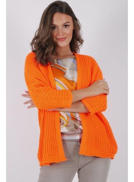 GL Bea Cardigan Fluo Orange