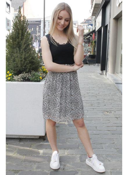 CR Leona Skirt Chalk Leo