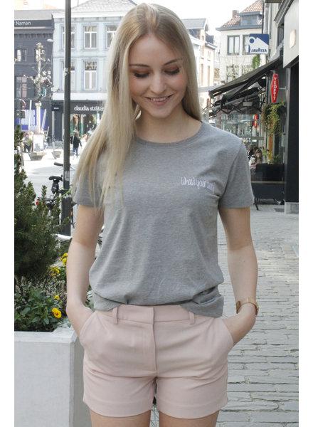 WS Ruth T-shirt Light Grey