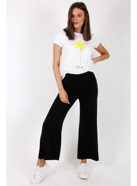 PE Marnie Wide Pantalon Black