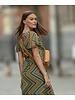 PE Samia Long Dress Print