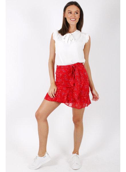 PE Jupi Skirt Red Flowers