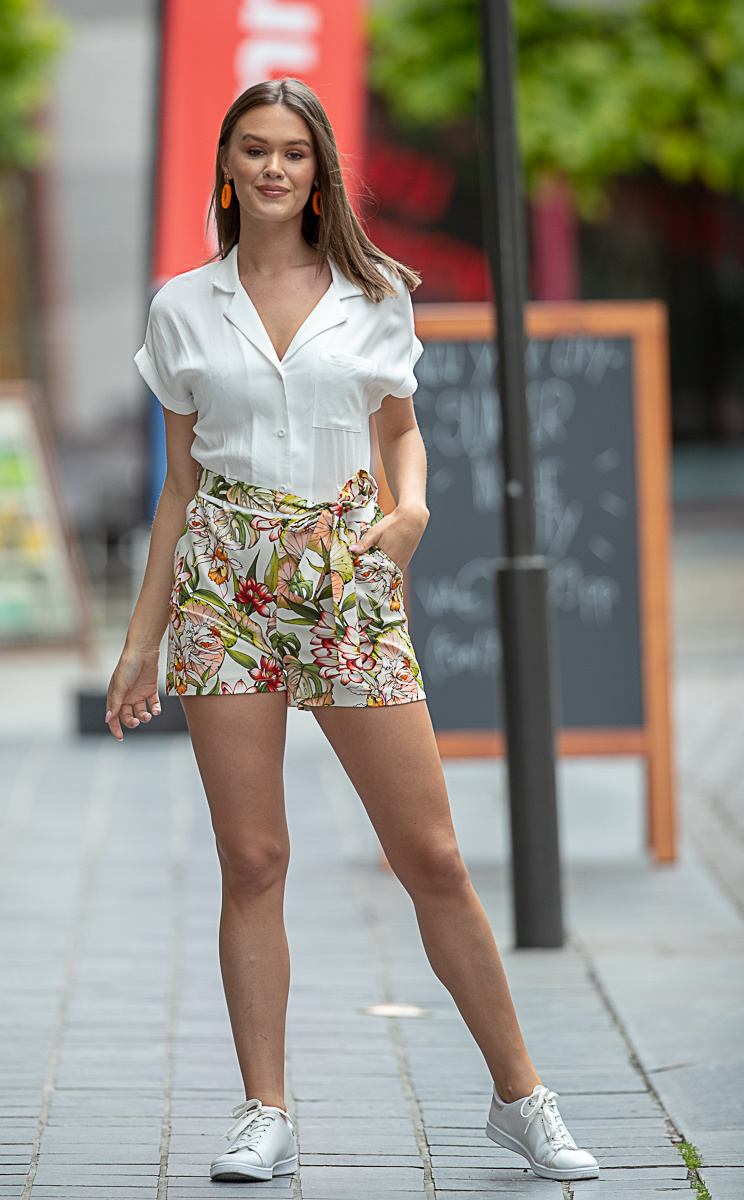 AA Candice Jumpsuit white/flowers