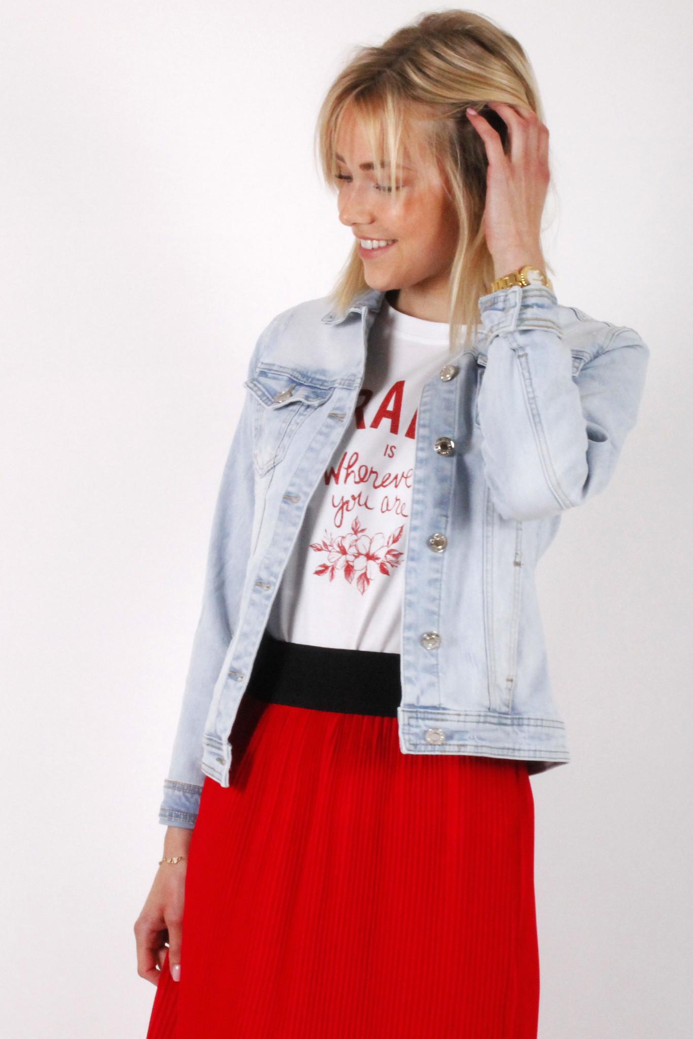 GL Sara Jeans Jacket Light Blue