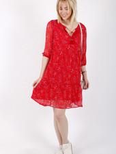 PE Bloom Dress Red Flowers