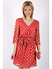 PE Christelle Dress Peach/Gold