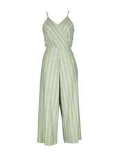 AA Magda Playsuit Stripes Silver/FLuo