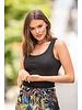 AT Flora Shorts Print Black