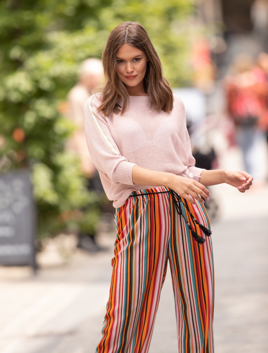 GL Marie Wide Trousers Multicolor