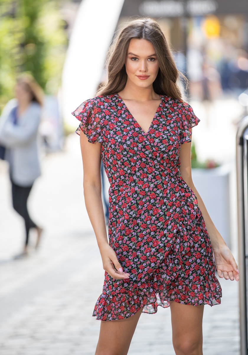 LPE Rosy Flower Dress