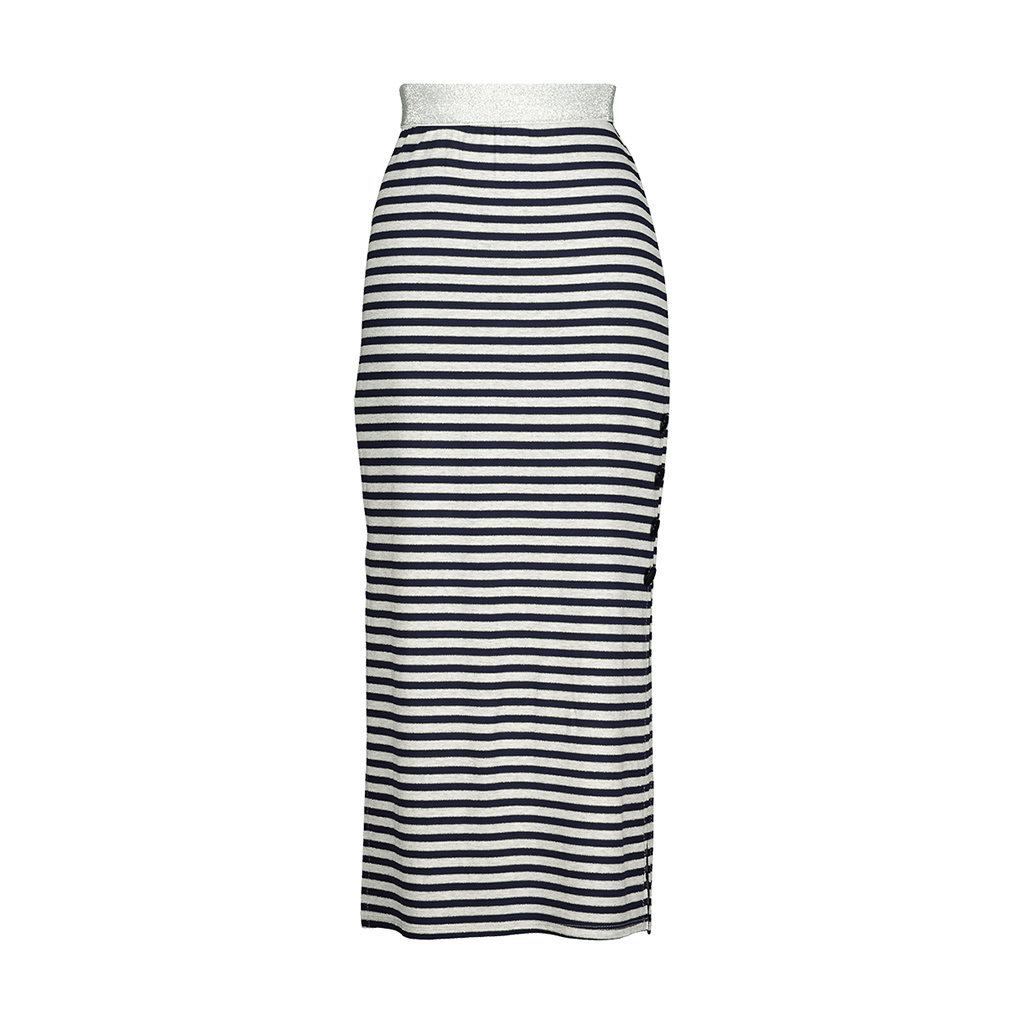 AA Soledad Skirt Stripes Blue