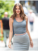 AA Guadalupe Long skirt Grey