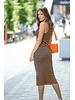 HV Cayman Shiny Strap Bag Orange