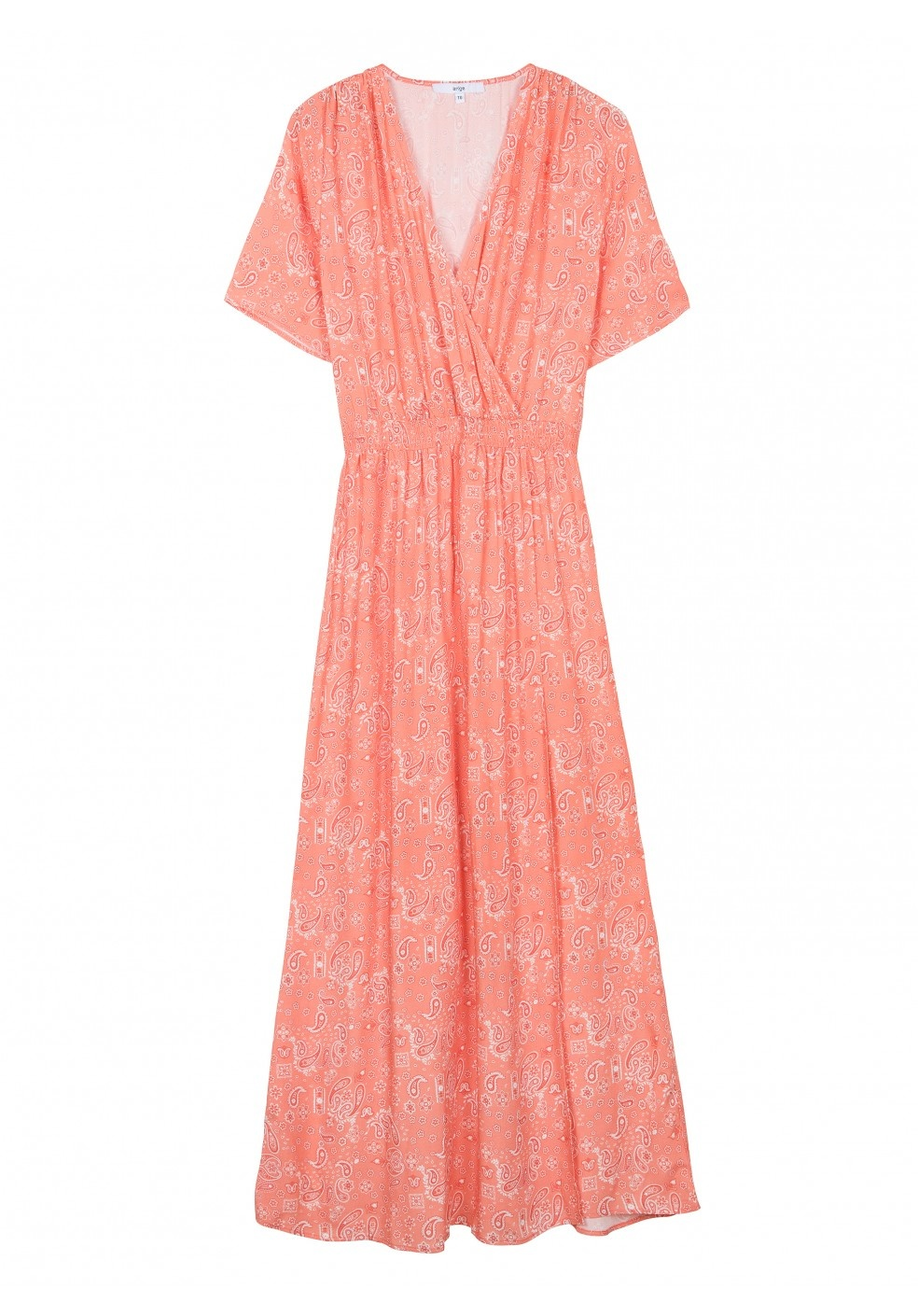 ML Fenna Dress Koraal Print