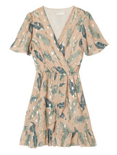 YW Axelle Summer Dress Leaves