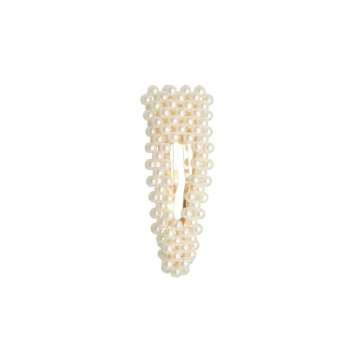 YW Haarclip Oldschool Pearls