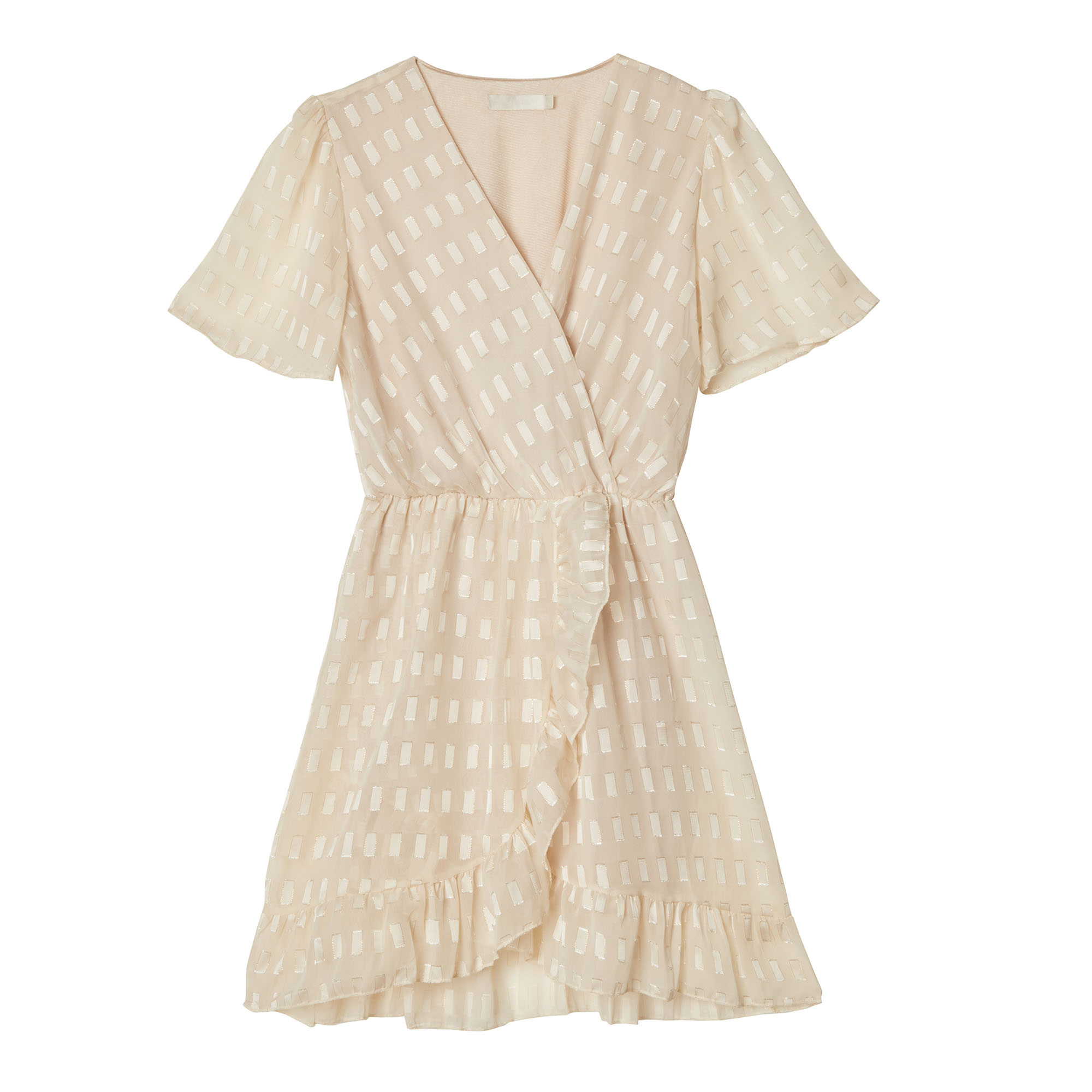 YW Axelle Sweet Day Dress Off-White