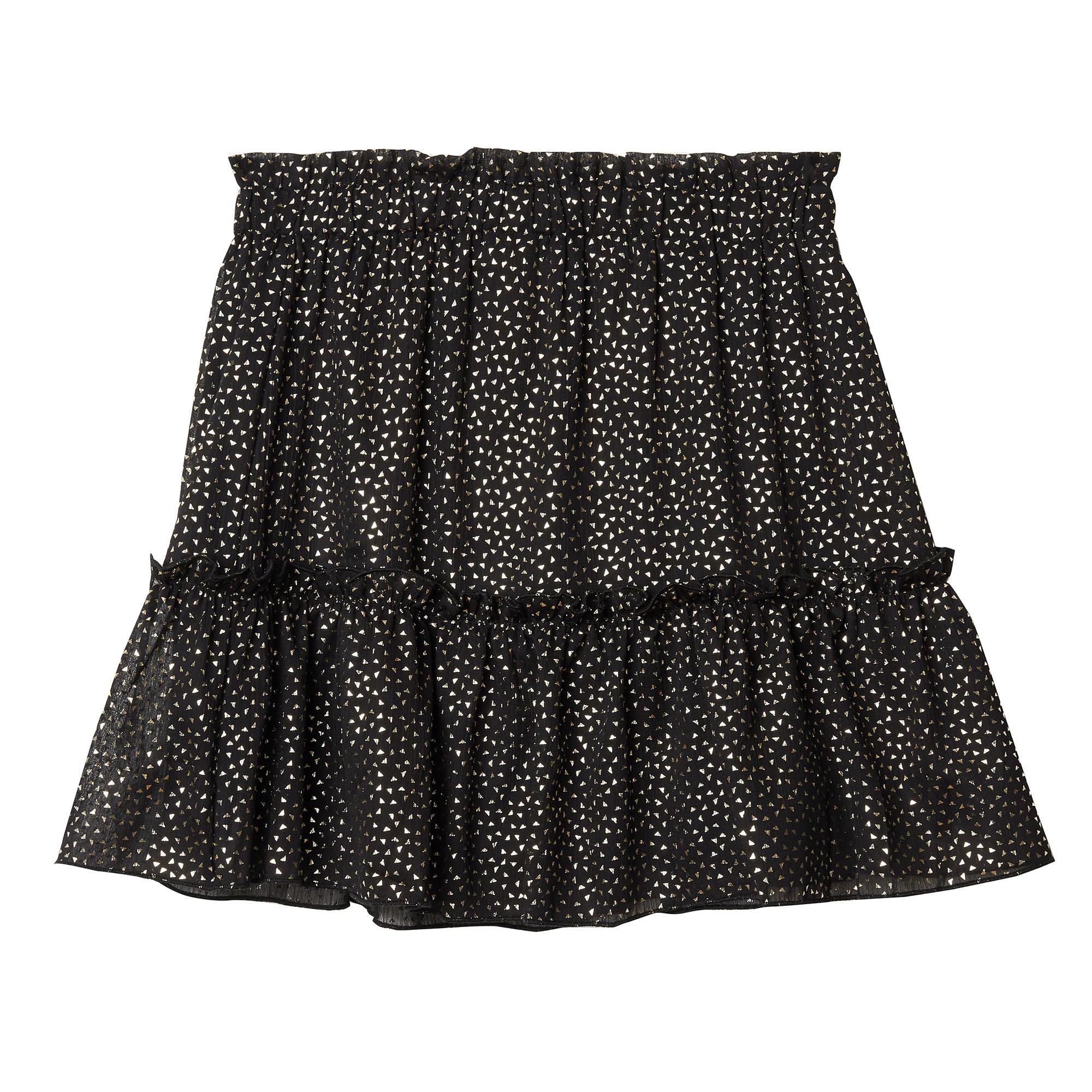 YW Tina Triangle Skirt Black
