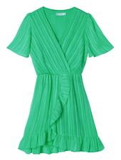 YW Axelle Stripes Dress Green