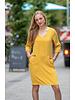 FB Meadow Oker Dress 3/4 Sleeve Pocket Basic