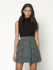 LM Joseline Skirt Blue Panter