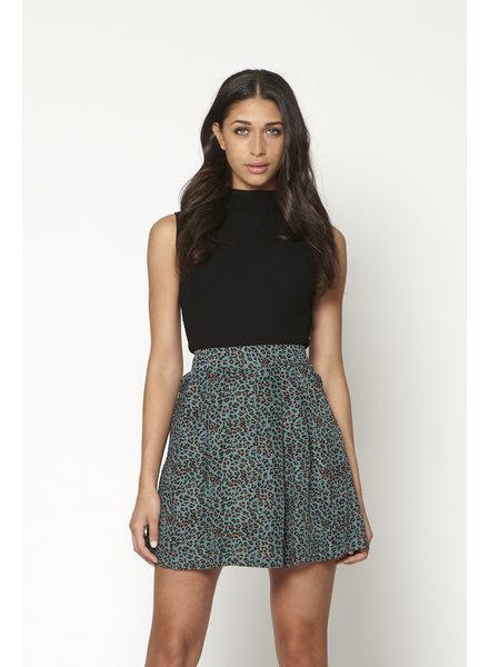 LM Joseline Skirt Blue Panter