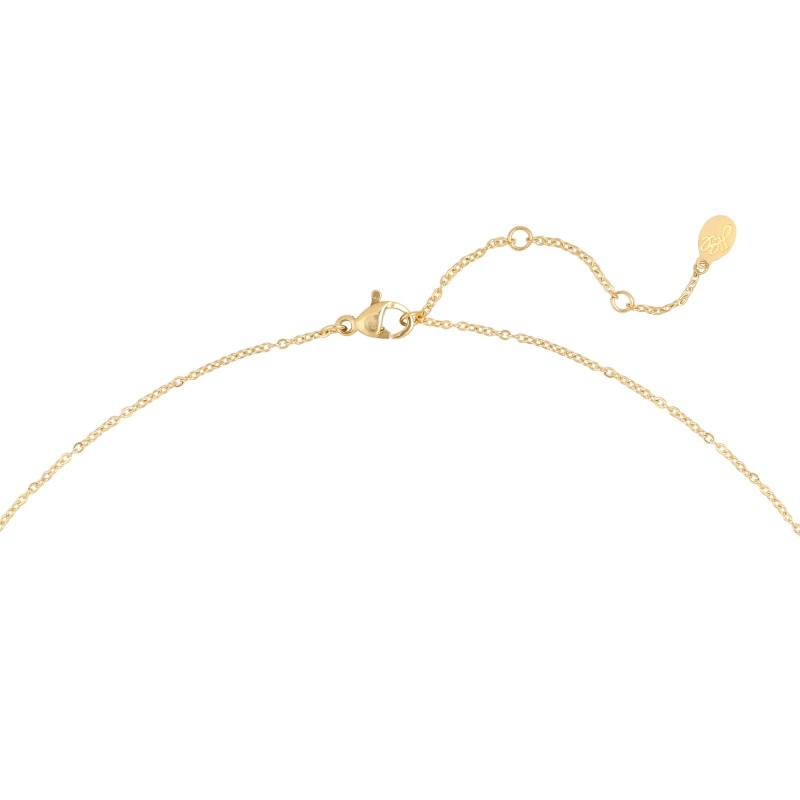 YW Necklace Confetti Party