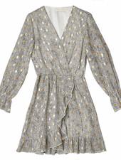 YW Axelle Long Sleeve Dress Ecru