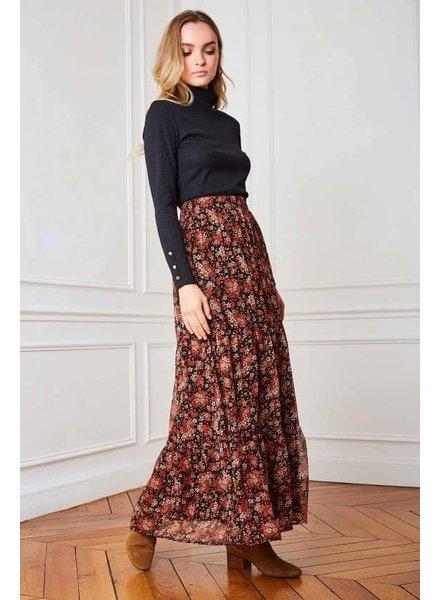 PE PE Chel Skirt Flowers
