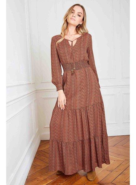 PE Aubade Dress Kakhi/Rusty