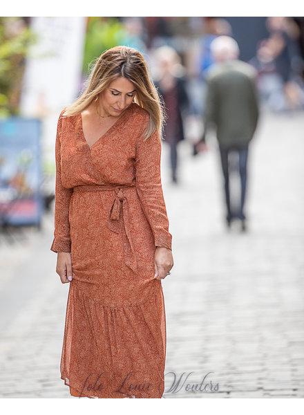 PE Virgile Dress Rusty