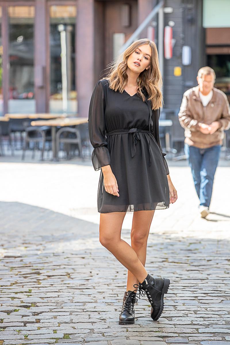 GL Little Black Dress Ruches
