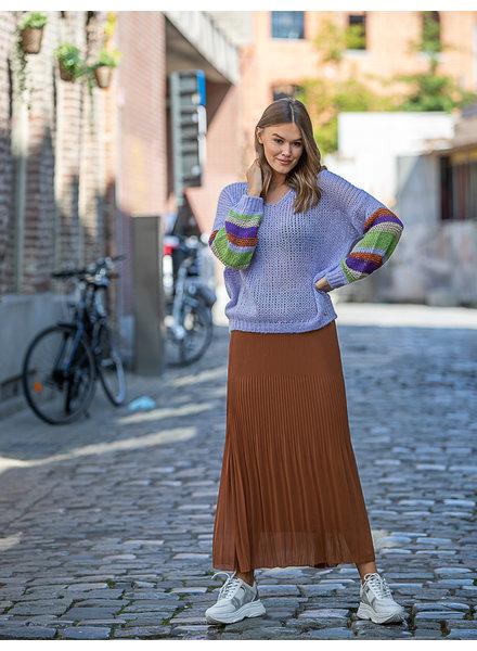 AA Julia Plissé Skirt Camel
