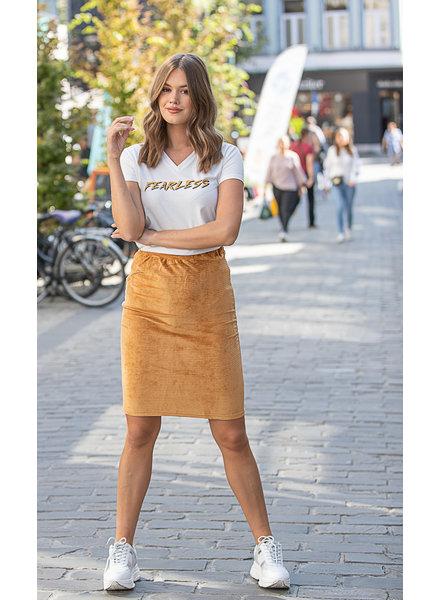 LM Zandra Orange Skirt