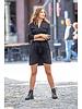 AA Francesca Dress Satin Black