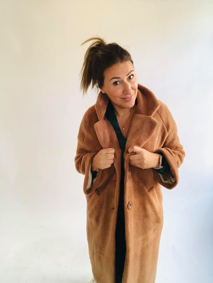 AA Naomi Coat Camel