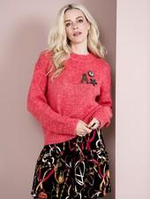 Esqualo Sweater Basic R/neck Red