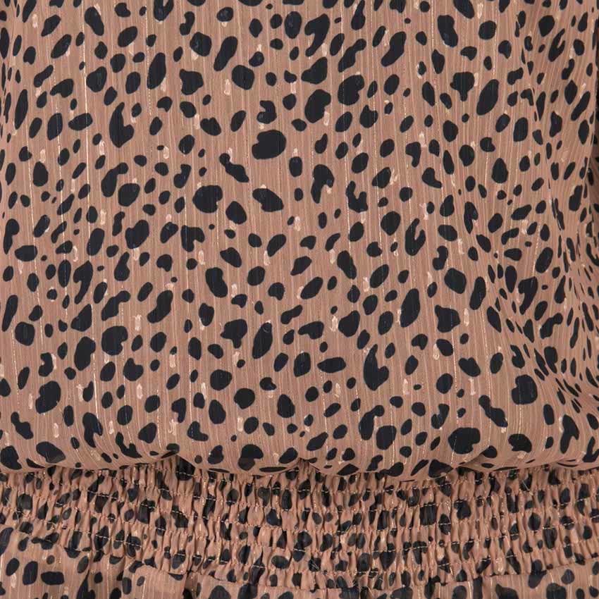 Esqualo Esqualo Dress Leopard Lurex