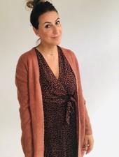 PE Lorena Cardigan Blush