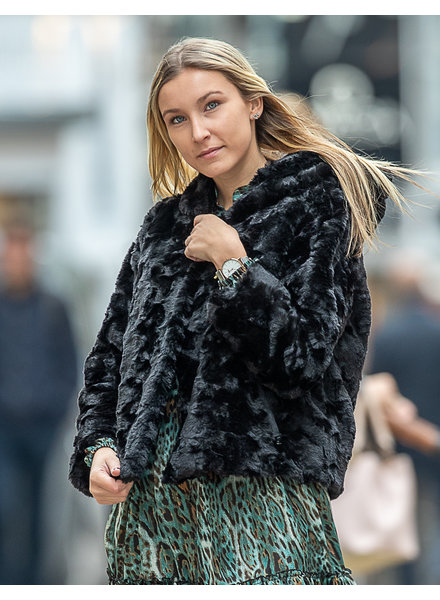 AA Lisa Faux Fur Jacket