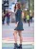 FB Chic Knit Dress Petrol Lurex