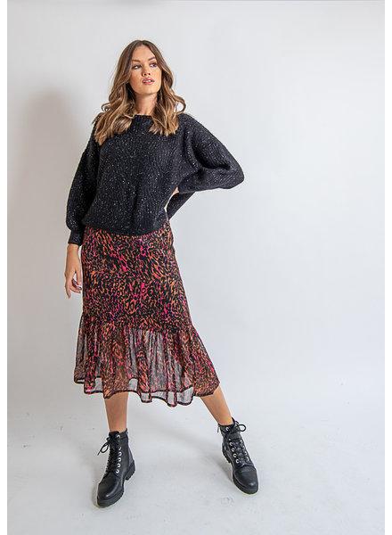 KBS Shining Leopard Skirt