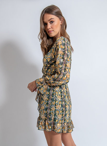 Axelle Dress Green