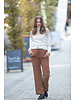 JM Wide Brown Trousers