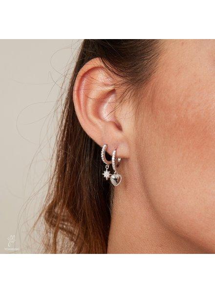 AT Earrings Lovely Gold
