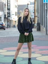 AL Verlaine Skirt Green/Black