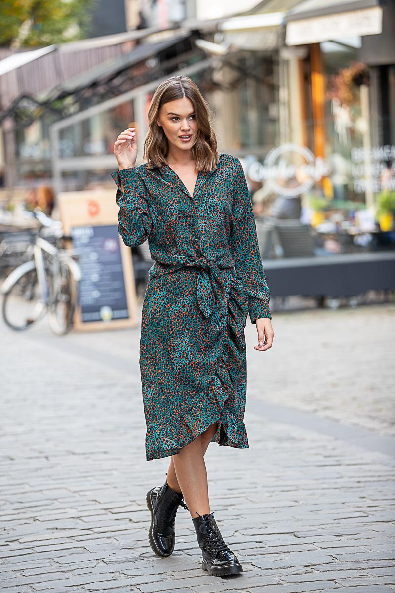 LM Elvera Skirt Leopard
