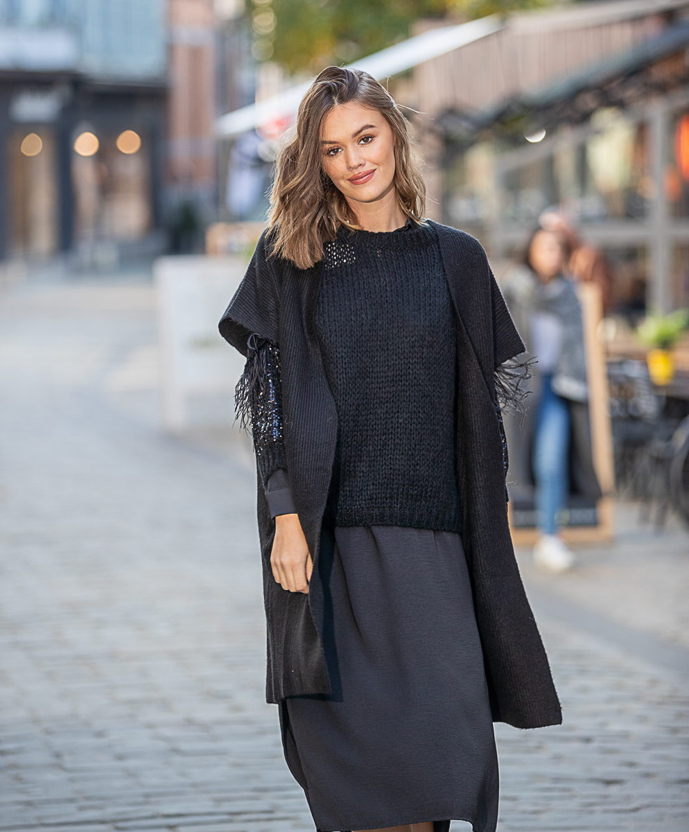AA Chemisier Dress Black