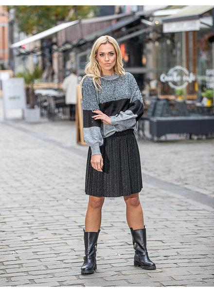 AT Plissé Skirt Mini Lurex