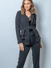 RC Nina Long Blazer Black